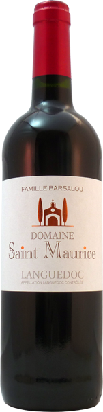 bouteille Domaine Saint Maurice rouge